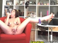 Cute Brunette Moans Loud HD