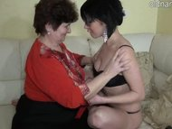 Granny and young girl