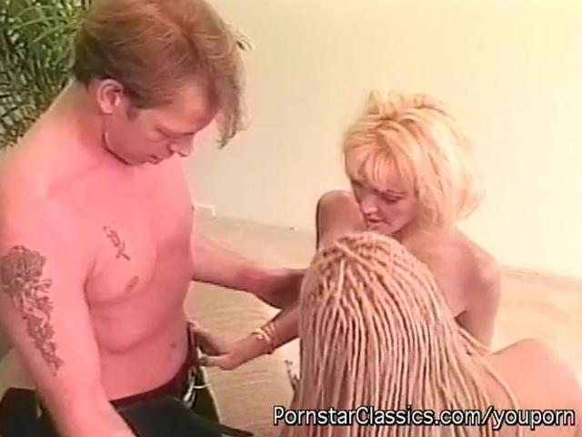 Classic Pornstar Three Way