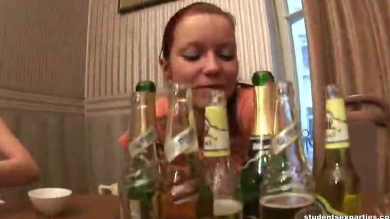 Wild Drunken Teens Turn Party Into Crazy Fuck