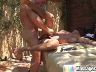 Massagecocks Oily Outdoor...