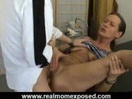 Gyno pervert fucks his se...