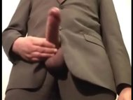 MONSTER COCK IN SUIT