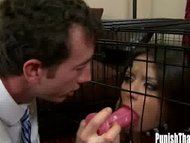 Jynx Maze locked in a cag...