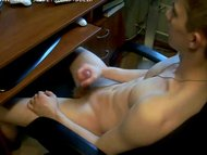 smooth webcam boy jerking...