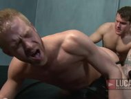 Hot Blond Guy Gets Pissed Soaked and Fucked in Jockstrap