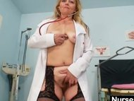 Filthy mature lady toys h...