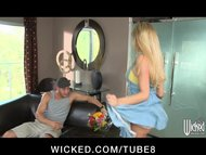 HOT young slutty girlfriend Tasha Reign strips down for roughsex
