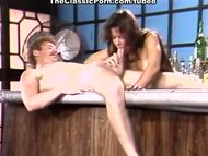 Retro hairy pussy taking hard