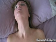 Amateur wife has intense orgas