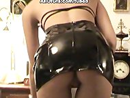 Sexy maid role game in ho...