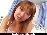 Pretty Maho Aizawa hot handjob