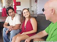 Hubby Watched An Awesome Threesome