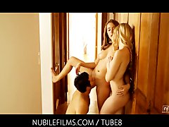 Tube8 - Nubile Films Threesome...