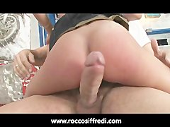 Rocco Siffredi Ass Fucks a Hottie in Every Position