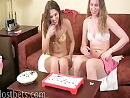 Mary and Amber Play Snip Surgery
