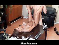 Porn Pros Office Seductio...