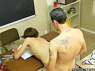 Horny Student Cheats with...