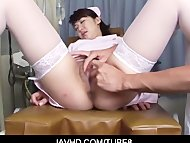 Japanese chick widen her ...