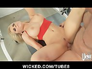 Stunning blonde MILF Madison I