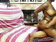NATURAL BLACK AMATEUR HAVING FUN