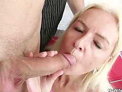 Tube8 - He fucks mother in law...