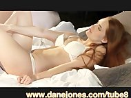 DaneJones Breathtaking romantic sex scene with sexy redhead and creampies