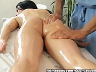Nude chick and dirty massage p