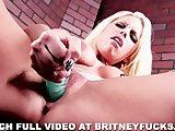 Britney Amber Hot Solo DP