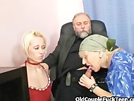 She fucks her boss for a ...