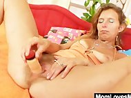 Skinny amateur mom toys h...