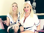 Shebang.TV  Two horny nurses always ready to help