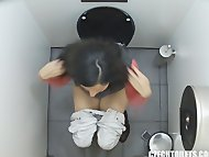 First Hidden Cam in Toilets Wo