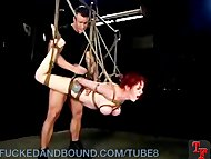Mz Berlin in Twisted Bondage