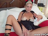 Nasty develish wife sucks it good
