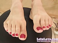 Lelu LoveBoss Secretary Foot F