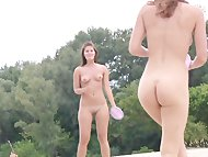 Nudist beach brings the b...