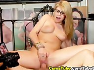 Blonde Gets Hard Fuck and...