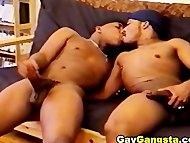 Black Gay Mouth Erection
