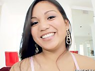 Asian pornstar Lana Violet hun