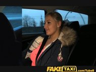 FakeTaxi Blonde with Huge tits