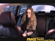 FakeTaxi Cutie with glasses fu