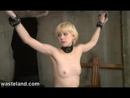 Wasteland Bondage Sex Movie Hard Flogging Pt 1