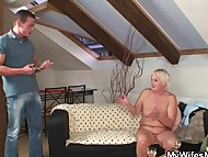 Drunk orgy with horny granny a