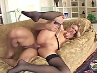 Blonde has kinky anal sex...