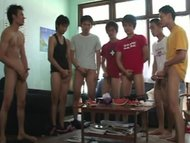 Swim Club  Yod, Lhong, Cha, Poj, Rang, Kee, Moo, Non and Ted