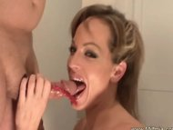 Suck That Candy On Hard Cock