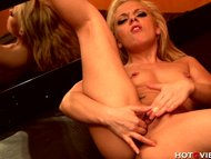 Blonde Teen Squirts When She Fucks Herself With Hotgvibe