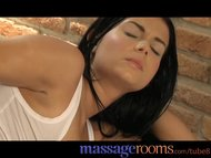 Massage Rooms Wet shaved pussy