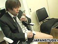 Hiroki Nishi - An Oriental Gay Addicted To Mobile Porn